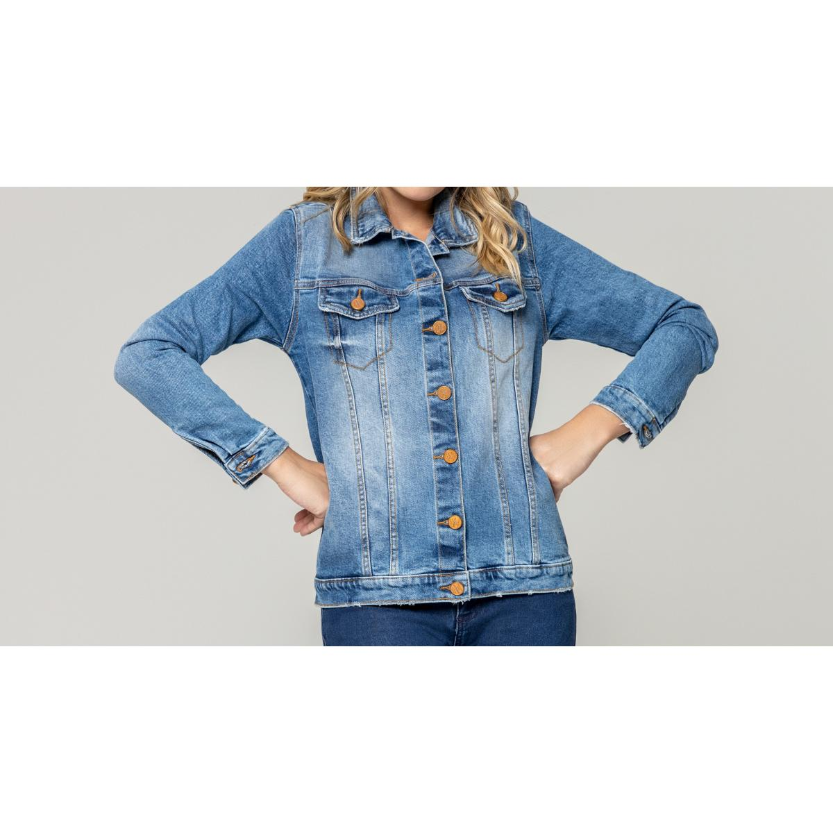 Jaqueta Feminina Index 06.01.000169 Jeans