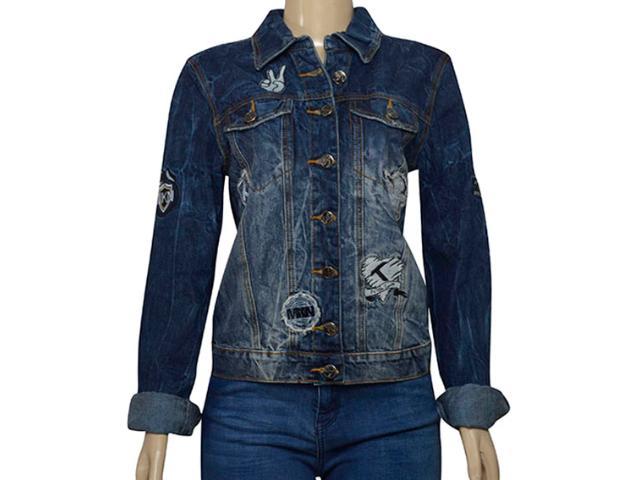 Jaqueta Feminina Moikana 218116 Jeans