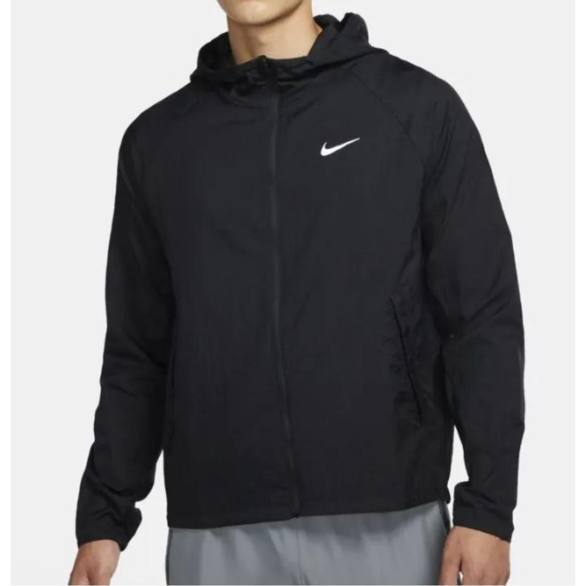 Jaqueta Masculina Nike Cu5358-010 Essential Preto