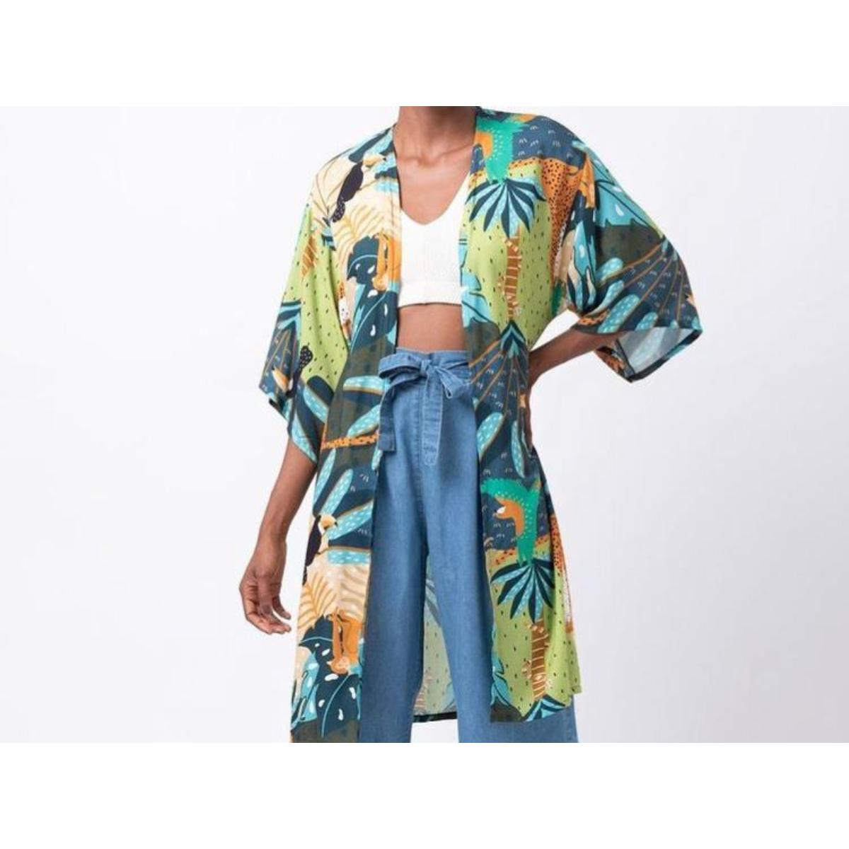 Kimono Feminino Mercatto 2837081 114 Estampado