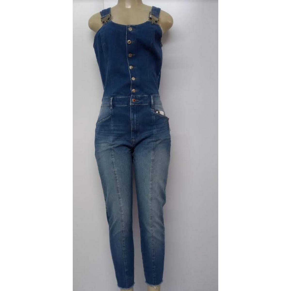Macacão Feminino Lado Avesso L114093 Jeans