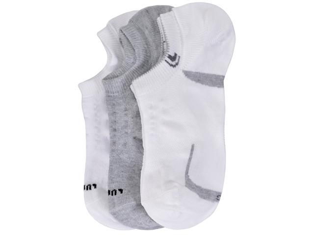 Meia Masculina Lupo 3270 089  0912 Kit C/3 Branco/cinza
