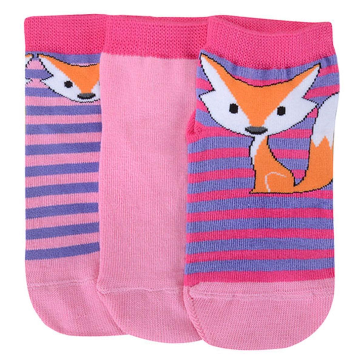 Meia Fem Infantil Lupo 02678 089 0931 Pink/rosa Listrado