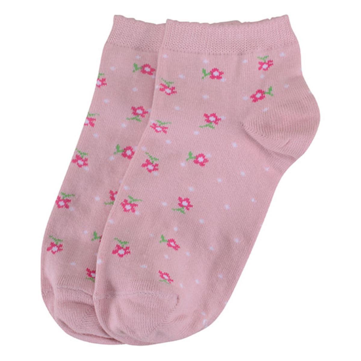 Meia Feminina Lupo 4535 224 5410 Rosa/pink