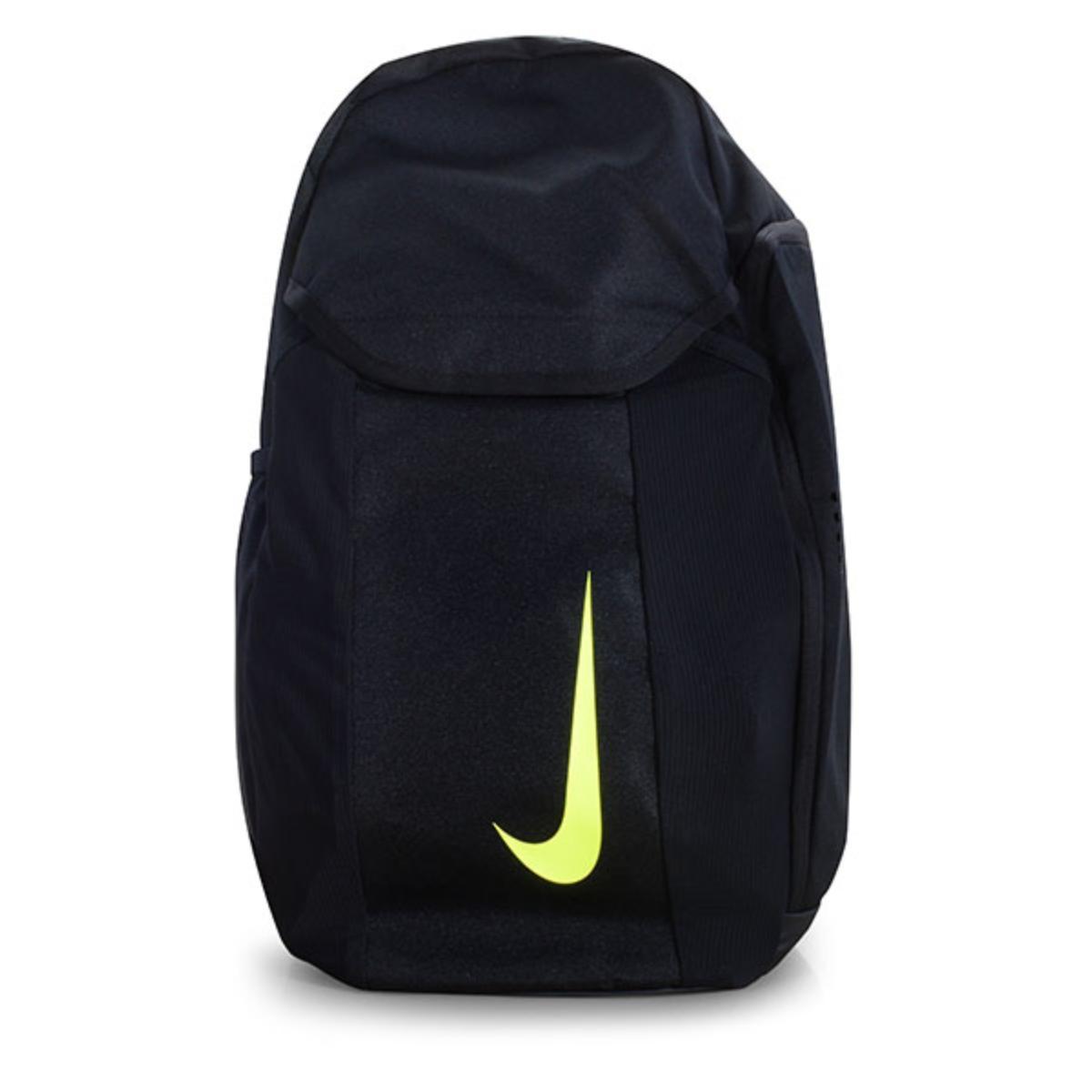 Mochila Unisex Nike Ba5508-010 Academy Bkpk Preto Limão