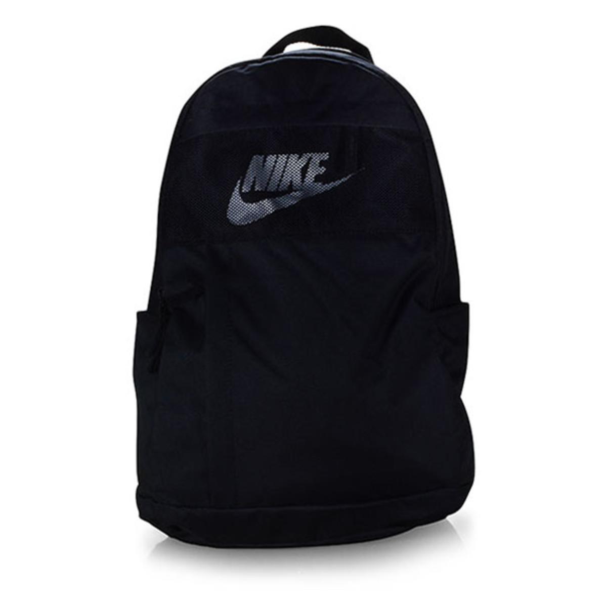 Mochila Unisex Nike Ba5878-010 Elmntl Bkpk Preto/branco