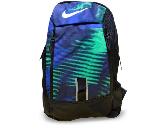 Mochila Unisex Nike Ba5224-480 Preto/verde/azul