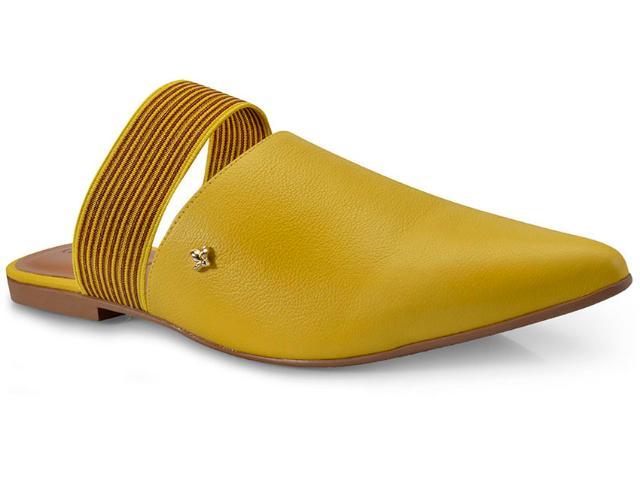 Mule Feminino Cravo e Canela 154004/3 Amarelo