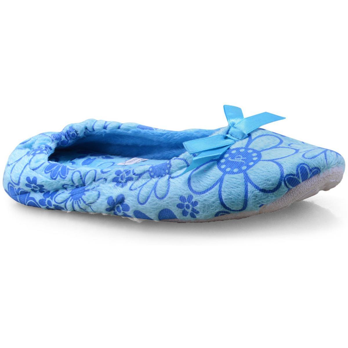 Pantufa Feminina Gasf 5670 Azul