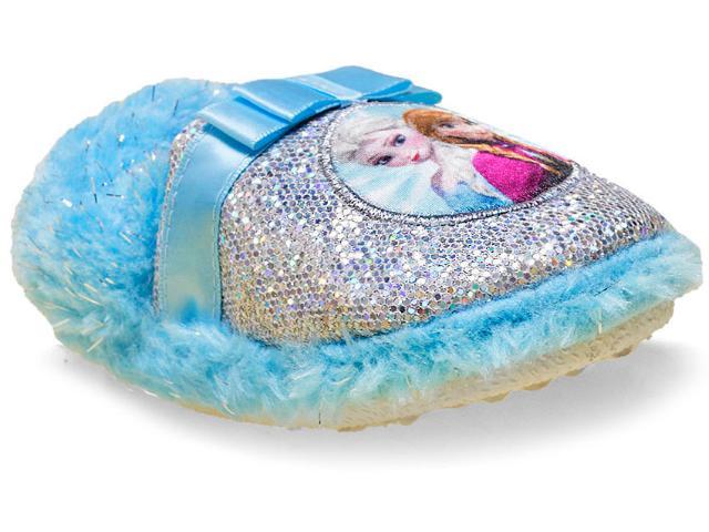 Pantufa Fem Infantil Ricsen Frozen 20186 Azul