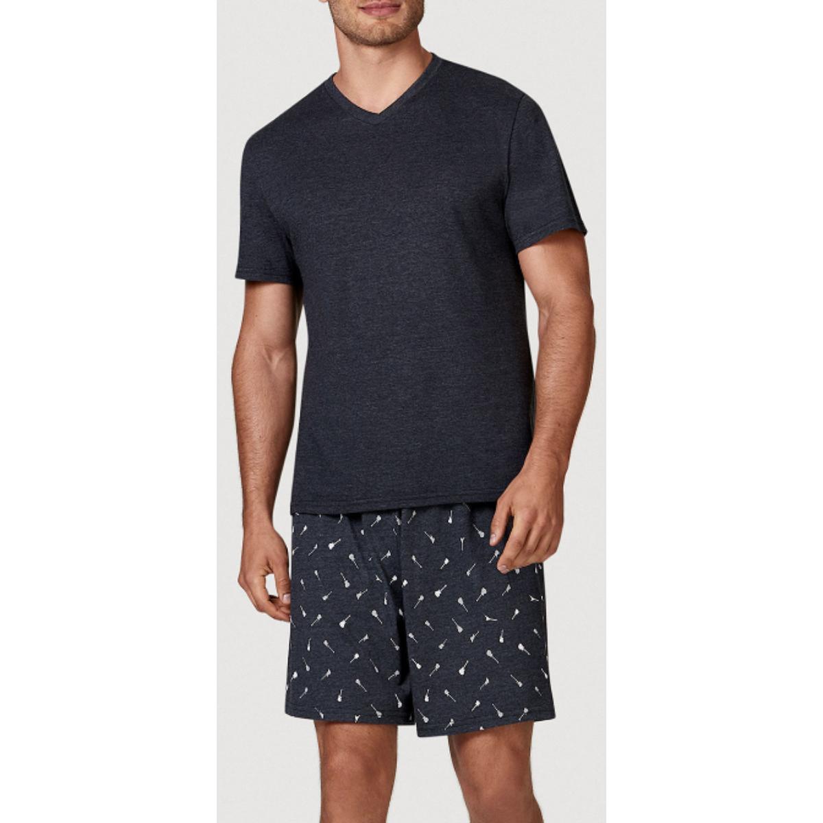 Pijama Masculina Hering 76wx 10jen  Chumbo