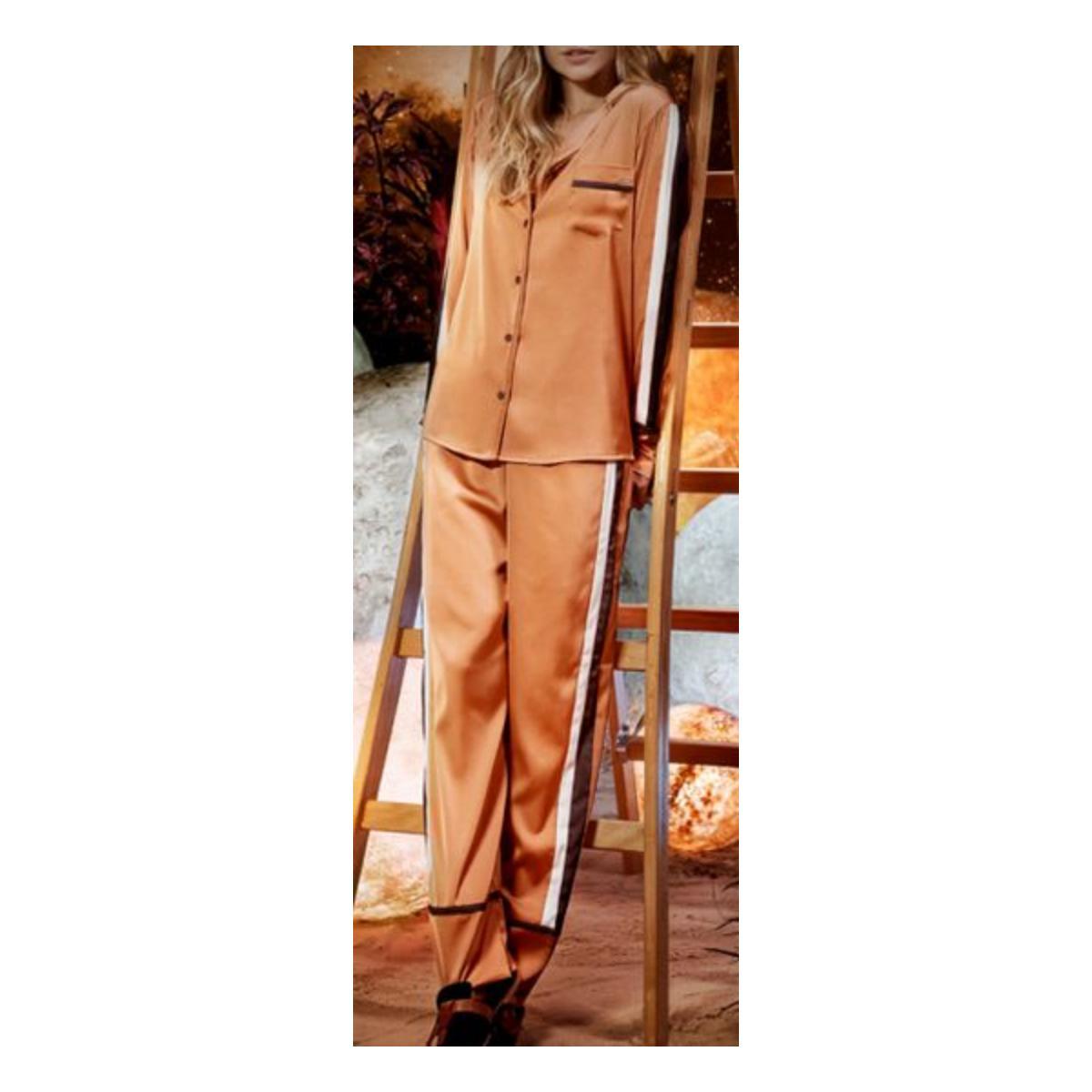 Pijama Feminina Lua Lua 221975 Cobre