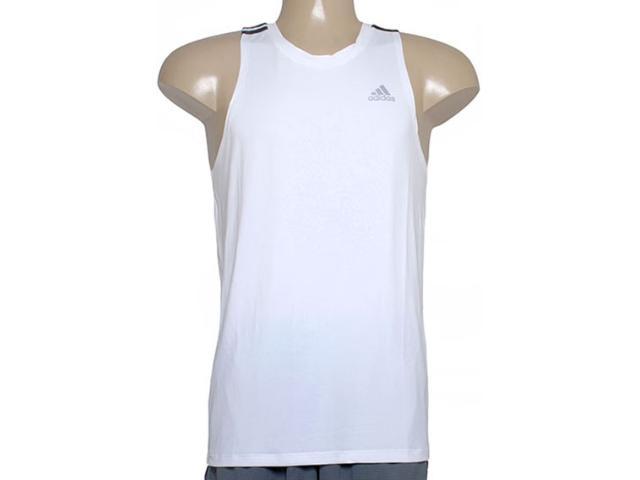 Regata Masculina Adidas Aa5904 3s Poli  Branco