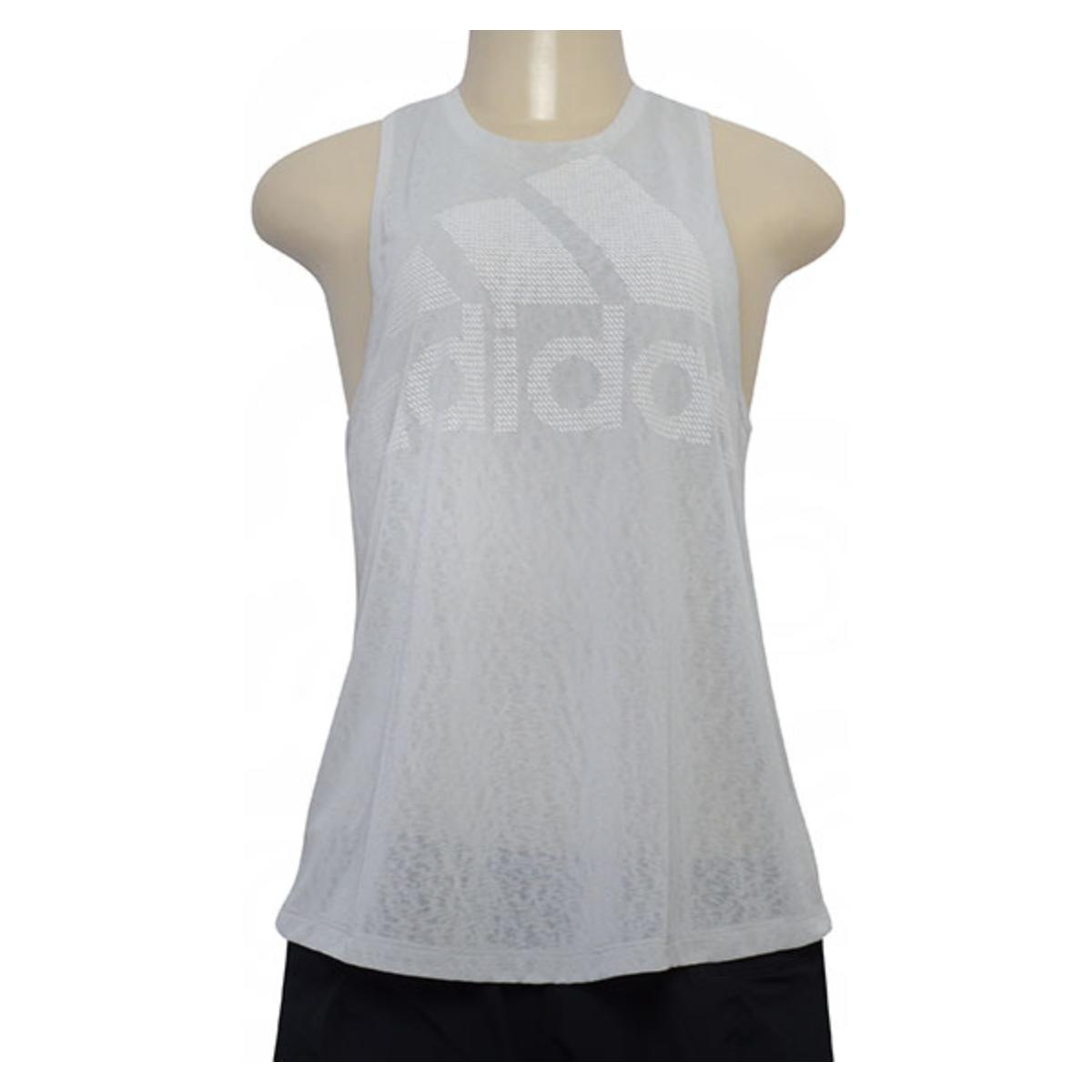 Regata Feminina Adidas Cz7887 Magic Logo Cinza