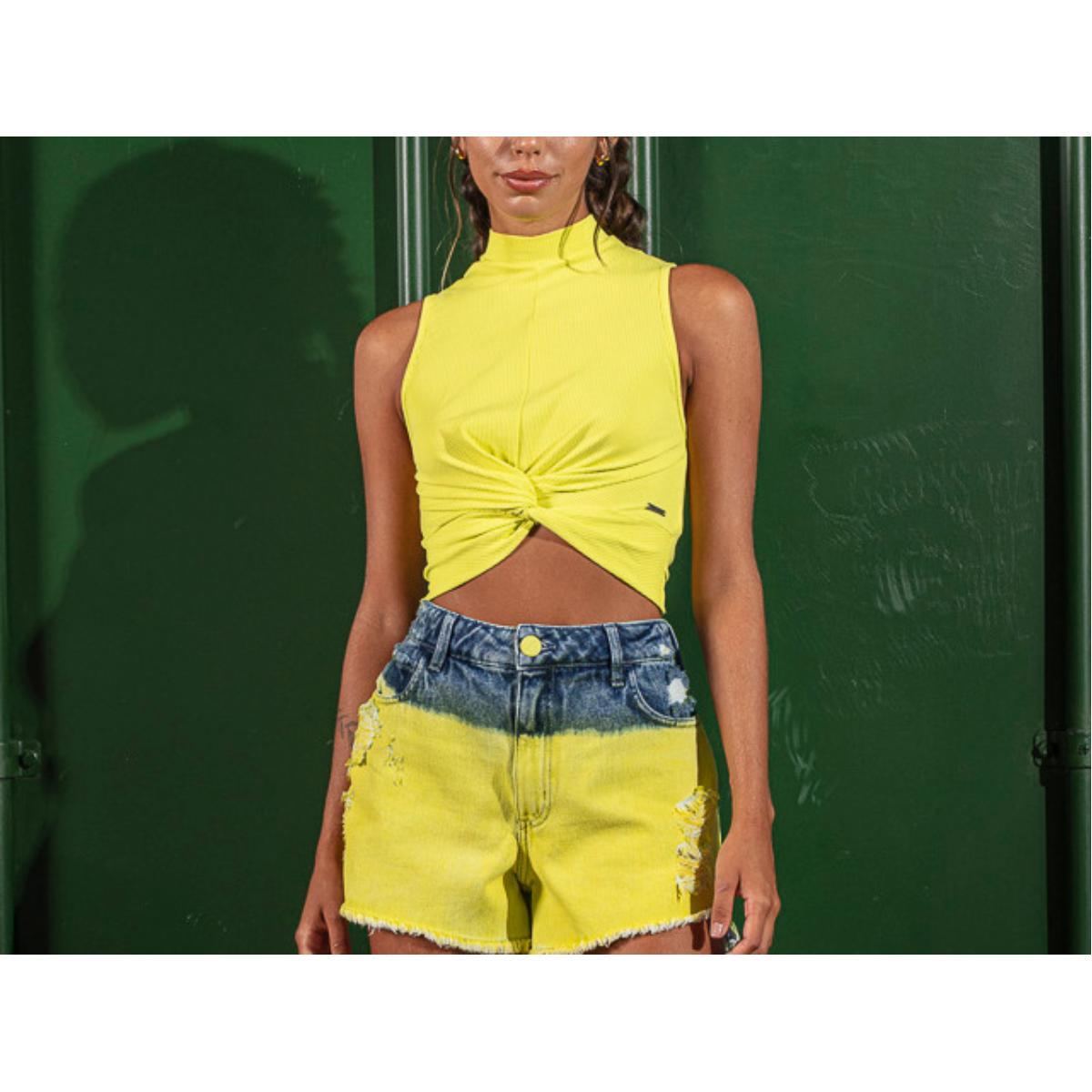 Regata Feminina Coca-cola Clothing 383201460 53716 Amarelo
