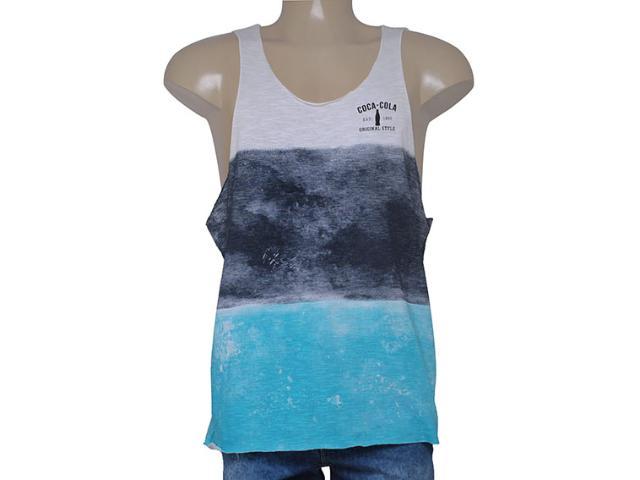 Regata Masculina Coca-cola Clothing 393200448 Marinho/azul