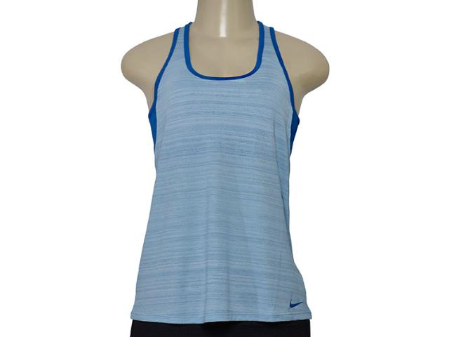 Regata Feminina Nike 862752-482  Womens Training Tank  Azul
