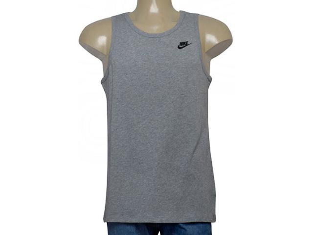 Regata Masculina Nike 827282-063 Sportswear Tank Cinza