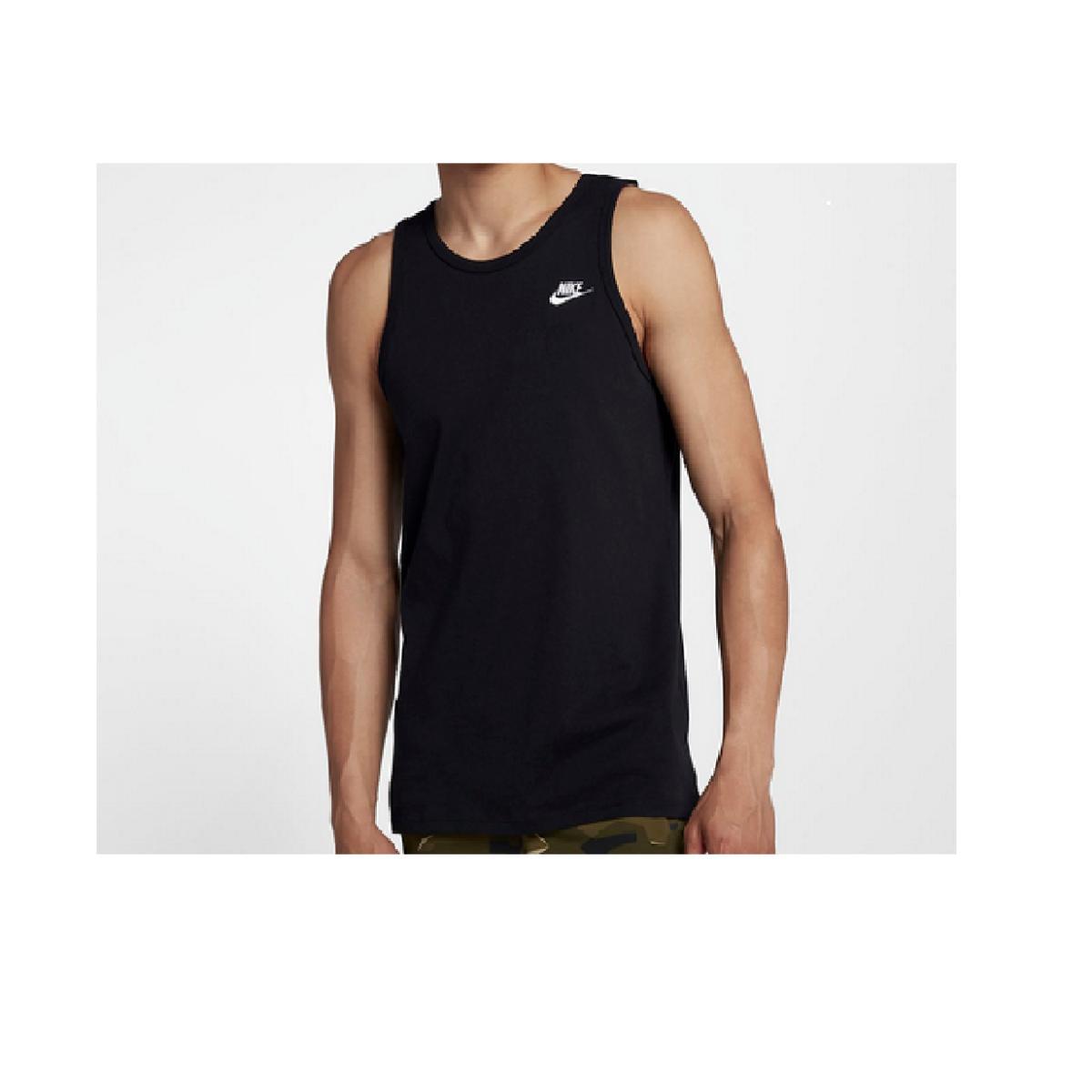 Regata Masculina Nike 827282-010 Sportswear Tank Preto