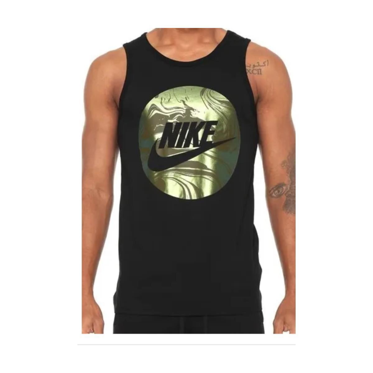 Regata Masculina Nike Ao5202-010 Sportswear Preto