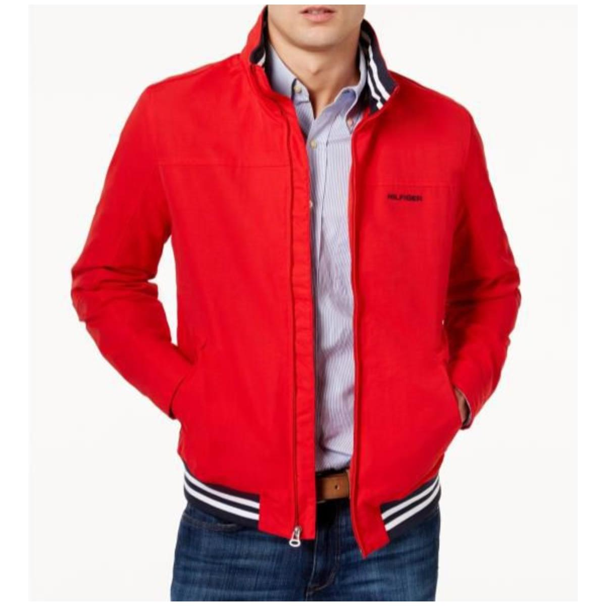 Jaqueta Masculina Tommy Th78j0431 Th600  Red/white