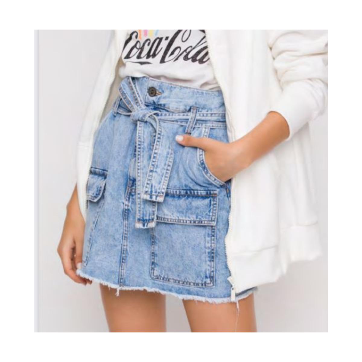Saia Feminina Coca-cola Clothing 83201080 600 Jeans