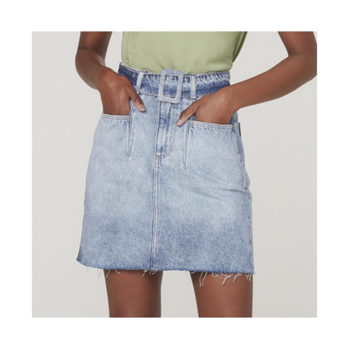 Saia Feminina Dzarm Zbmm 1asn Jeans