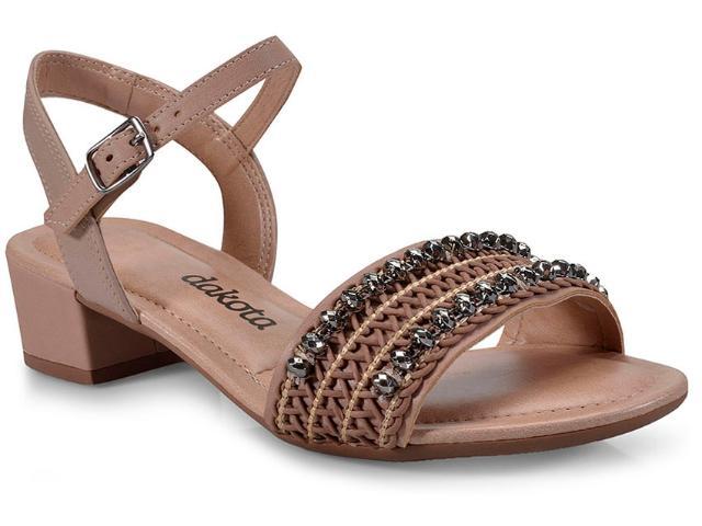 Sandália Feminina Dakota Z2431 Nozes