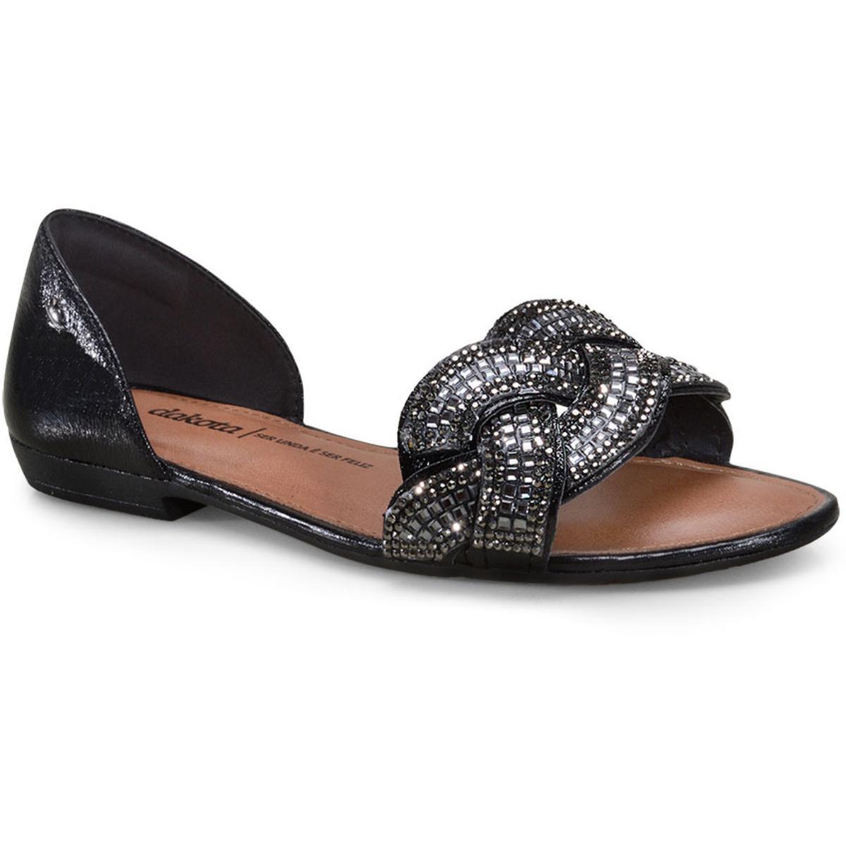 Sandália Feminina Dakota Z6831 Preto