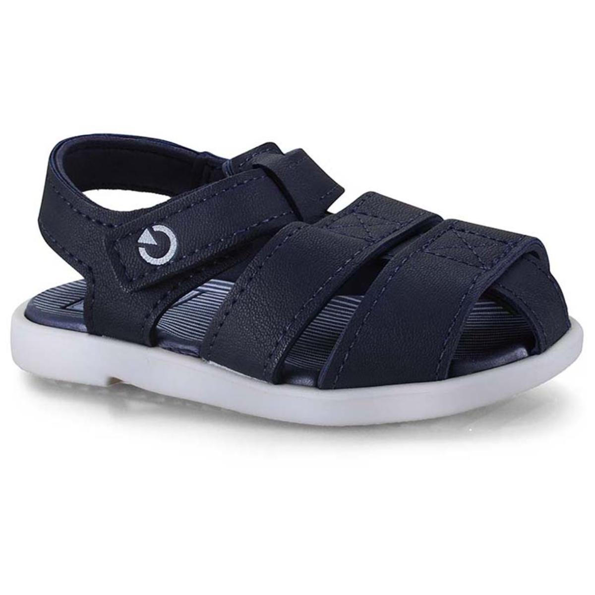 Sandália Masc Infantil Grendene 11561 20032 Cartago Mini Branco/azul