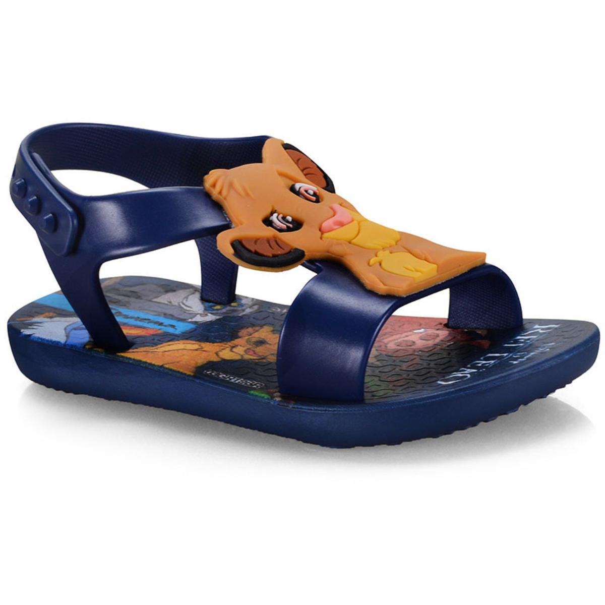 Sandália Masc Infantil Grendene 26359 22930 Ipanema Clássicos Disney Baby Azul/azul Escuro