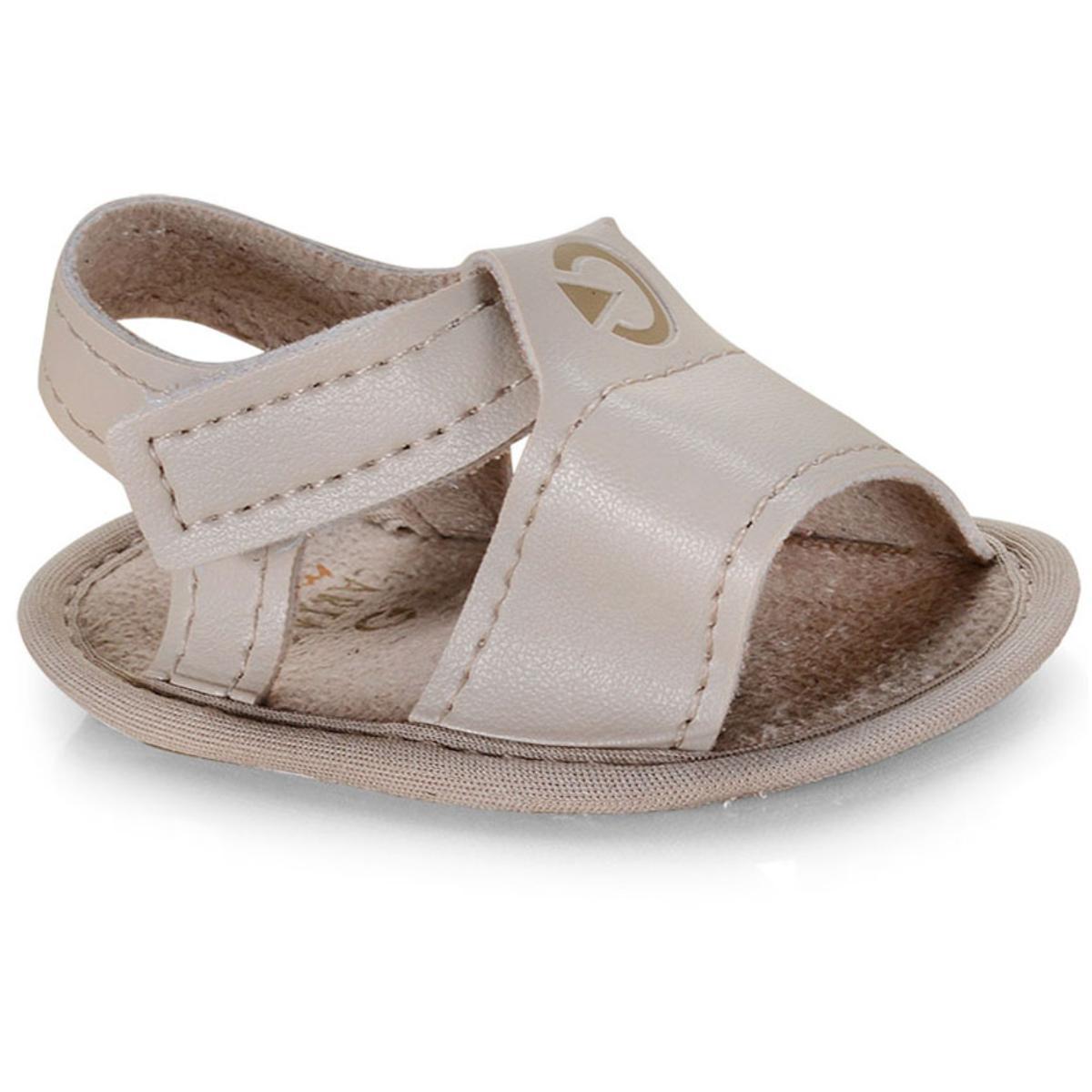 Sandália Masc Infantil Grendene 11537 20354 Cartago Mini rn Bege