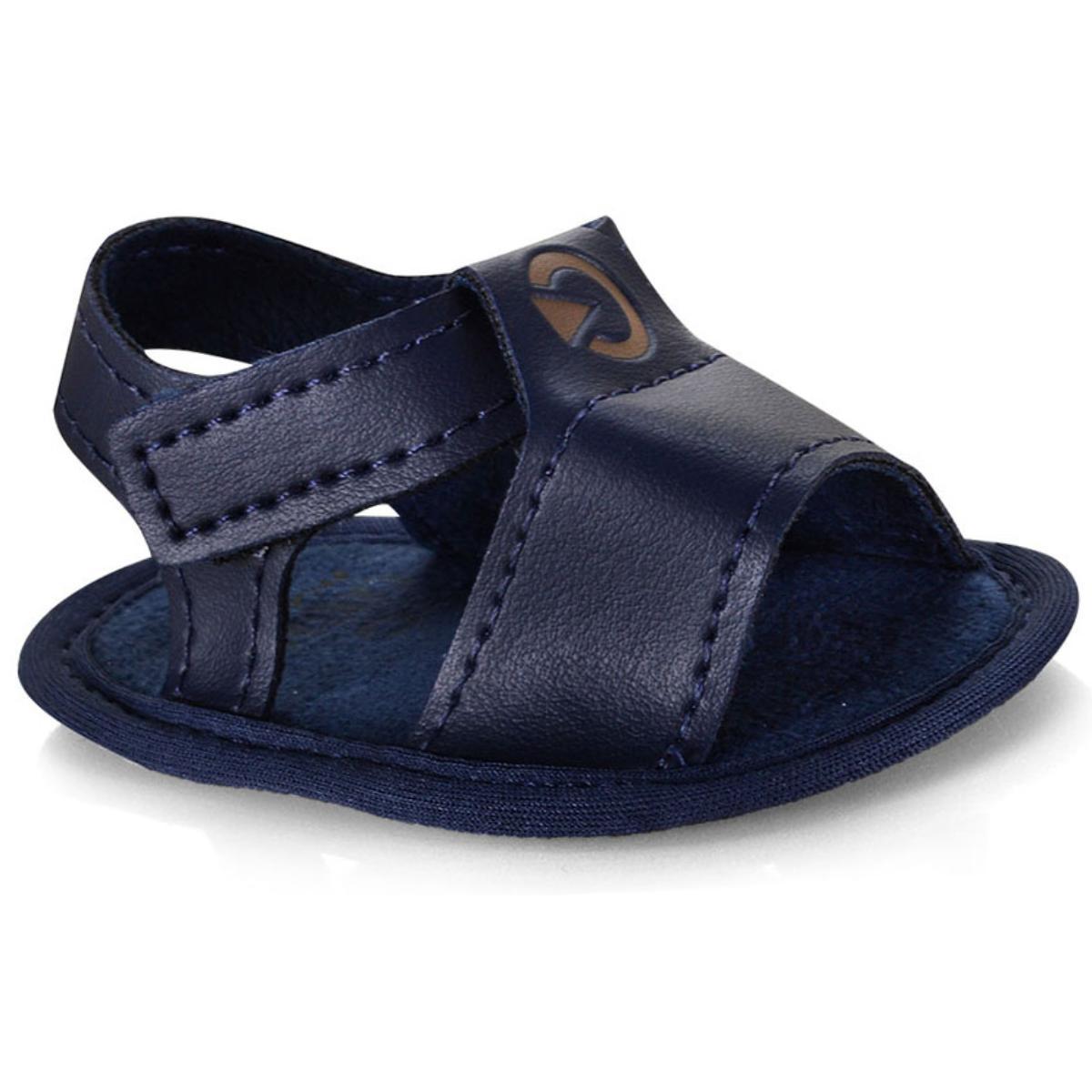 Sandália Masc Infantil Grendene 11537 20729 Cartago Mini rn Azul