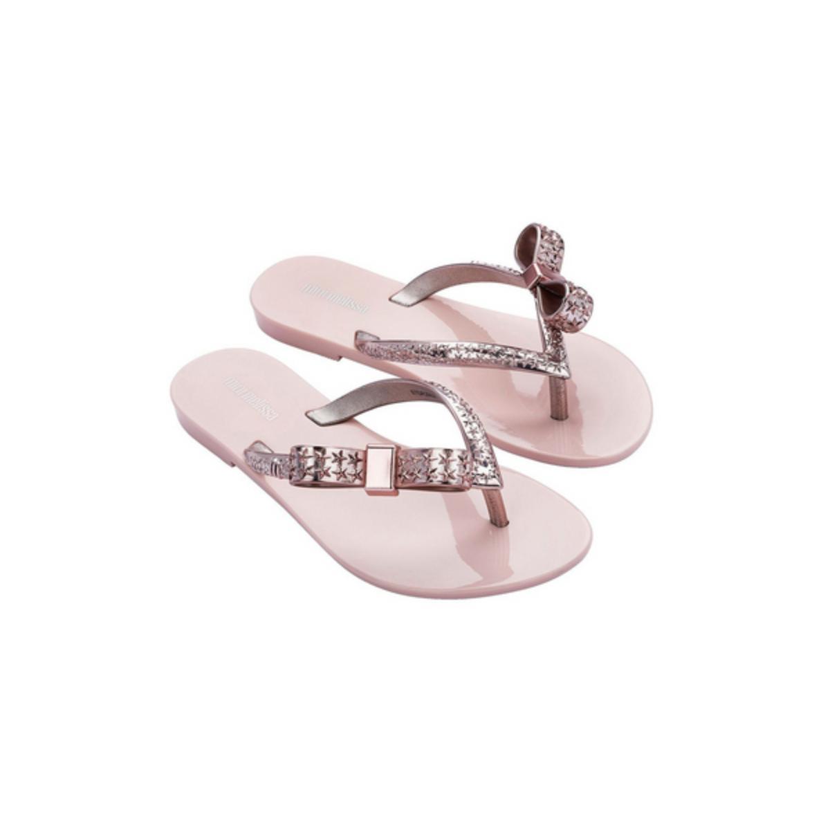 Sandália Fem Infantil Melissa 33255 52902  Harmonic Chrome Rosa/rosa Metalizado