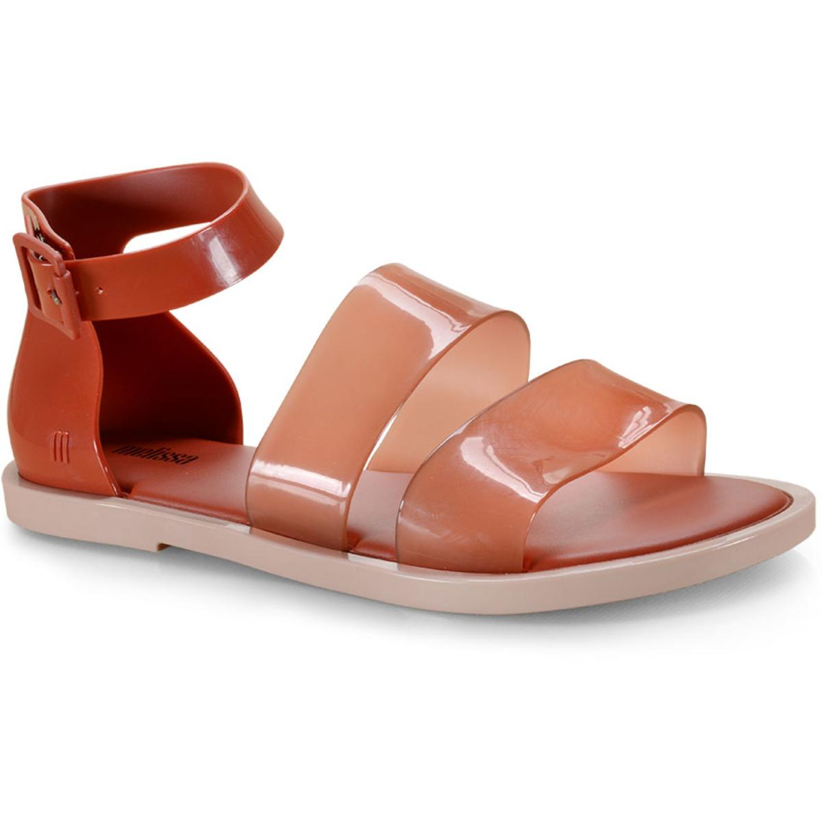Sandália Feminina Melissa 32797 51387 Model Sandal Bege/marrom