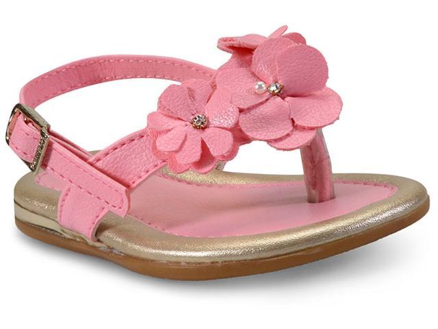 Sandália Fem Infantil Pampili 298.116 Rosa Chiclete