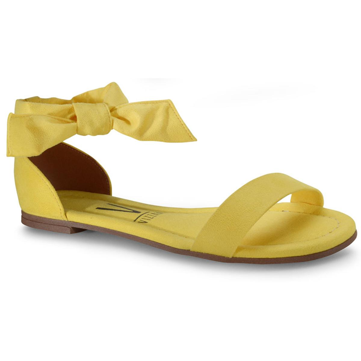 Sandália Feminina Vizzano 6235297 Amarelo