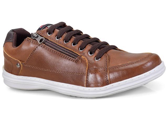 Sapatênis Masculino Ped Shoes 76501-d Castanho