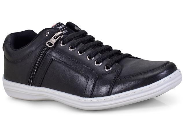 Sapatênis Masculino Ped Shoes 78001-a Preto