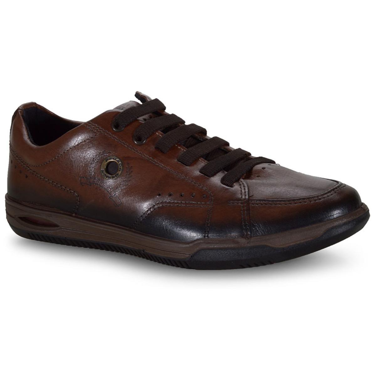 Sapatênis Masculino Pegada 118106-02 Pinhão/brown