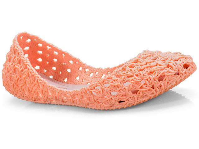 Sapatilha Feminina Melissa 32246 01684 Campana Croche Rosa Starck