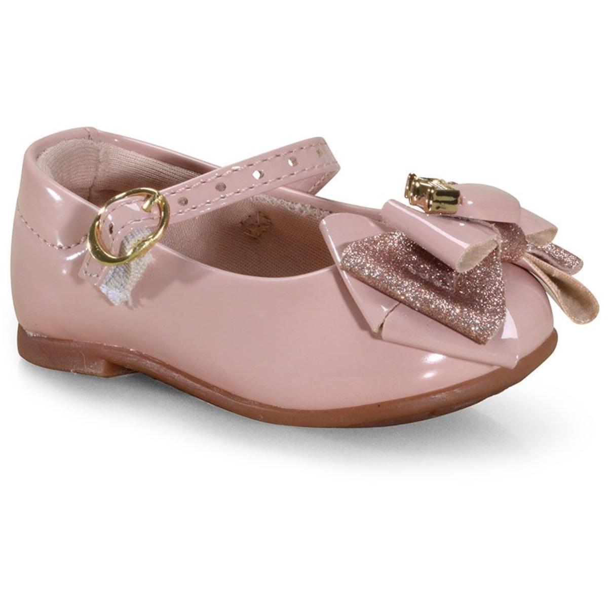 Sapatilha Fem Infantil Molekinha 21061023 Rosa