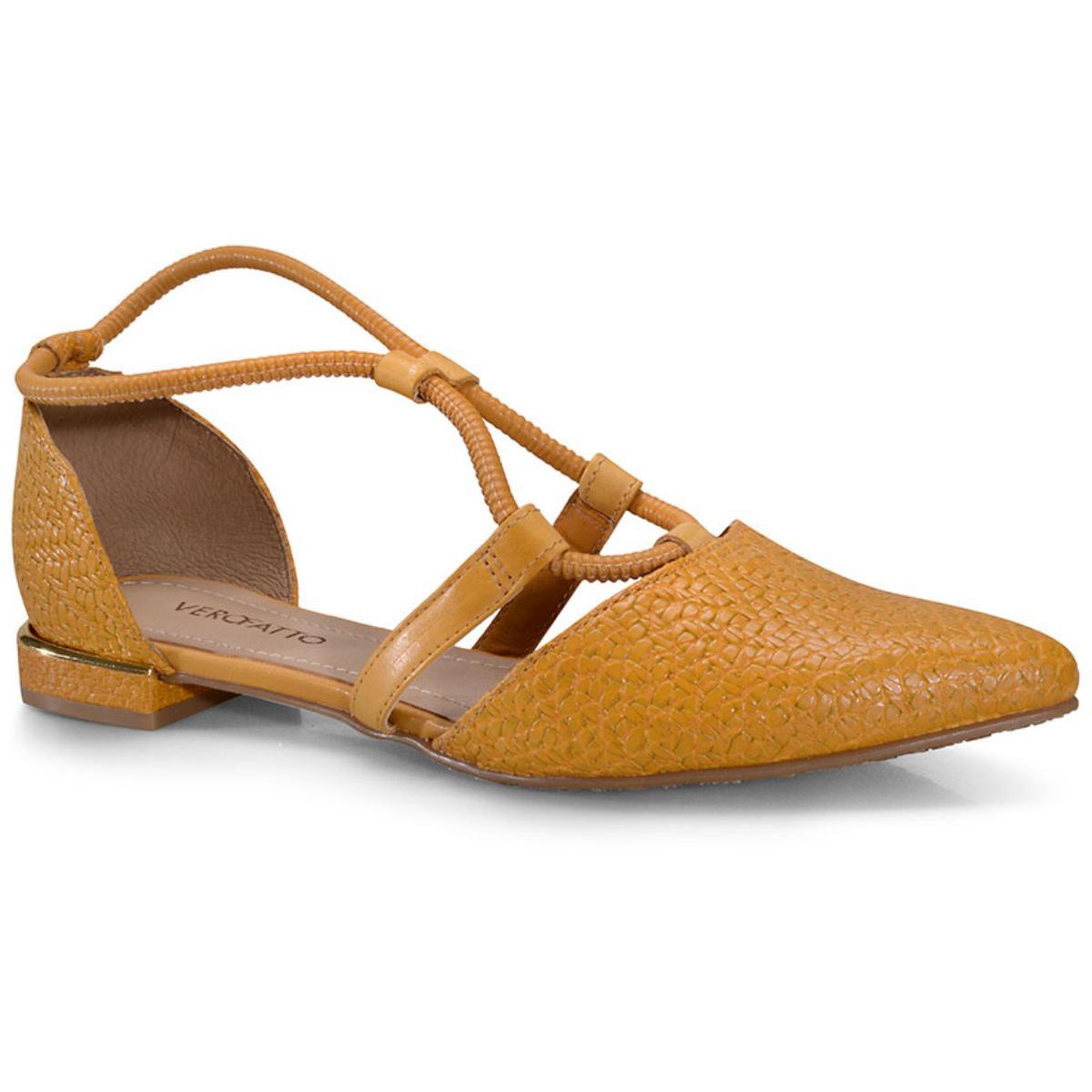 Sapatilha Feminina Verofatto 6018803 Amarelo