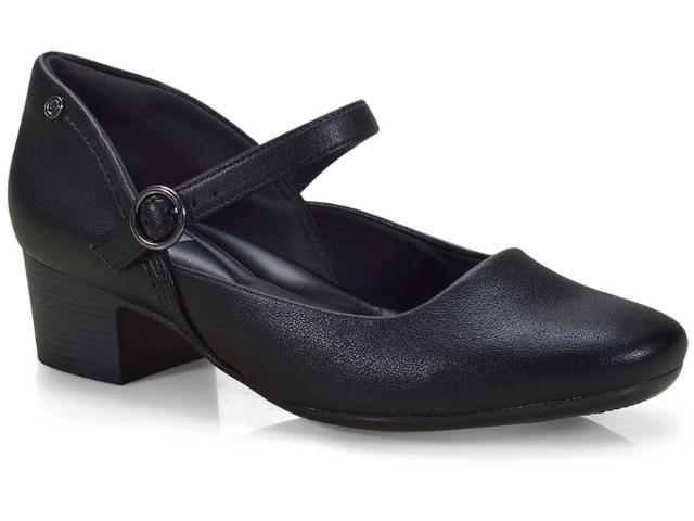 Sapato Feminino Comfortflex 18-86406 Preto