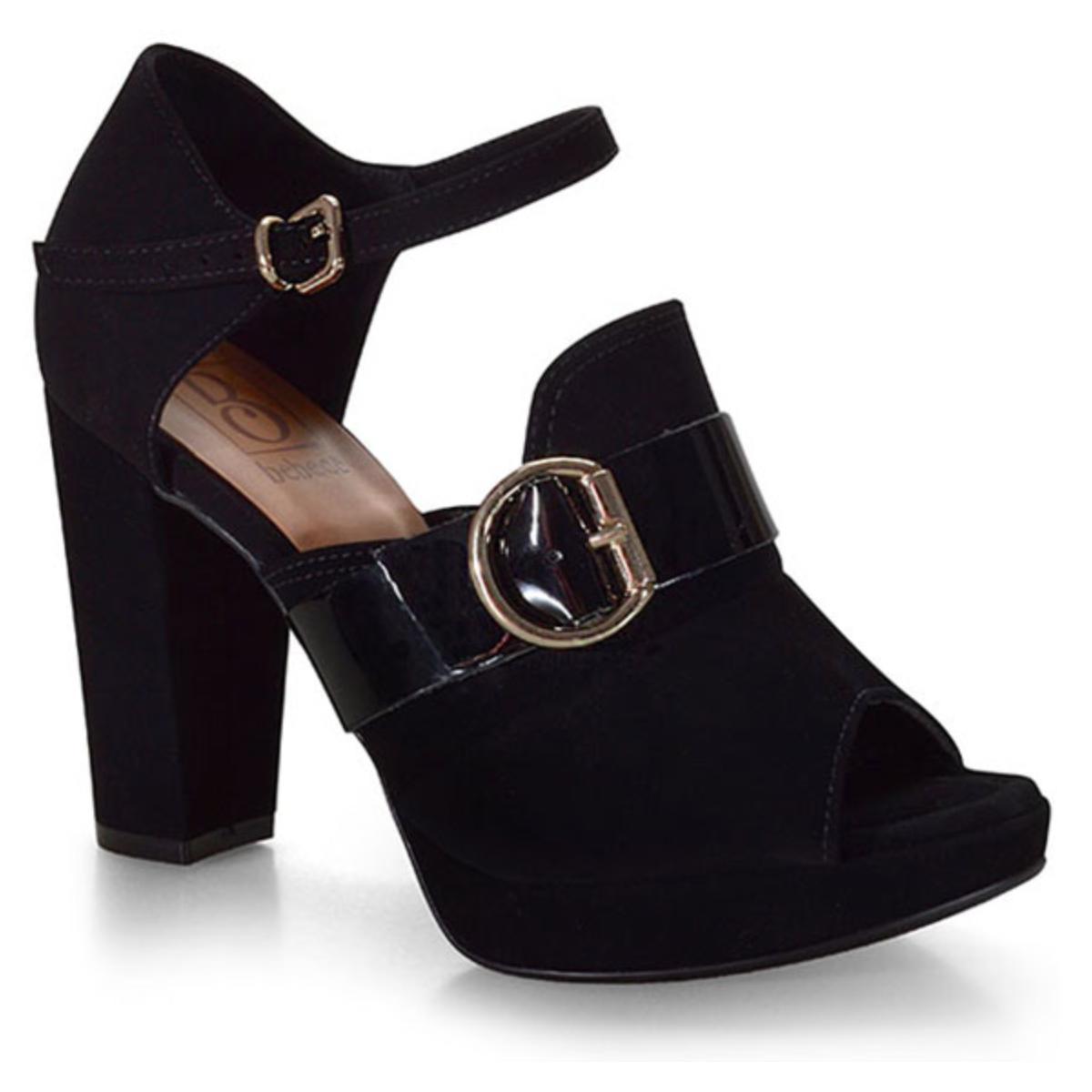 Sapato Feminino Bebêcê8420076 Preto