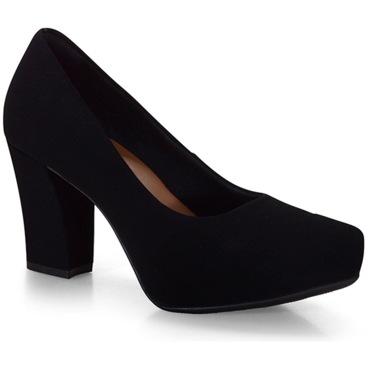 Sapato Feminino Bebêcê6916274 Preto