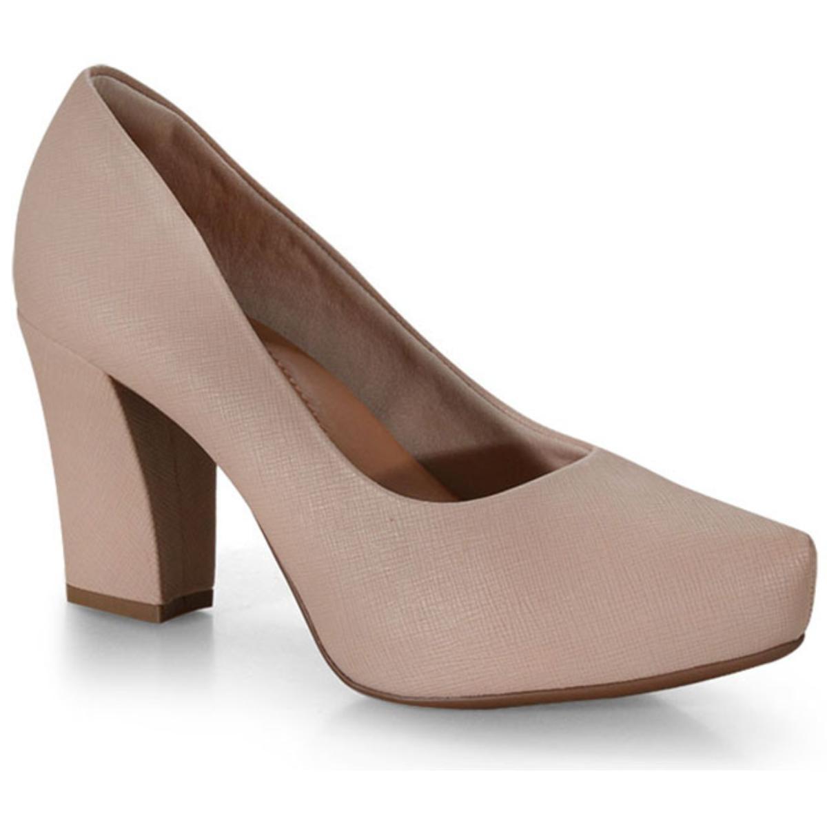 Sapato Feminino Bebêcê6916274 Nude