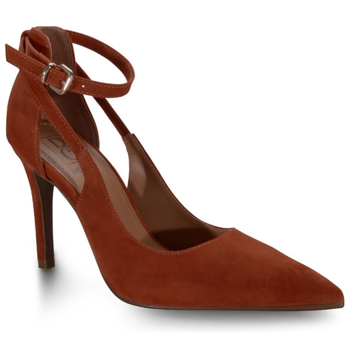 Sapato Feminino Bebêcê9420105 Terracota