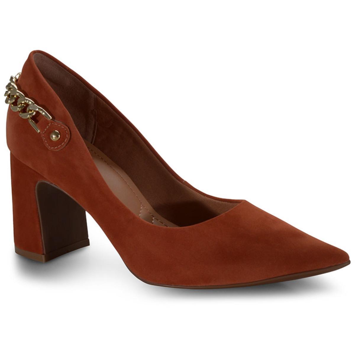 Sapato Feminino Bebêcê7018141 Terracota