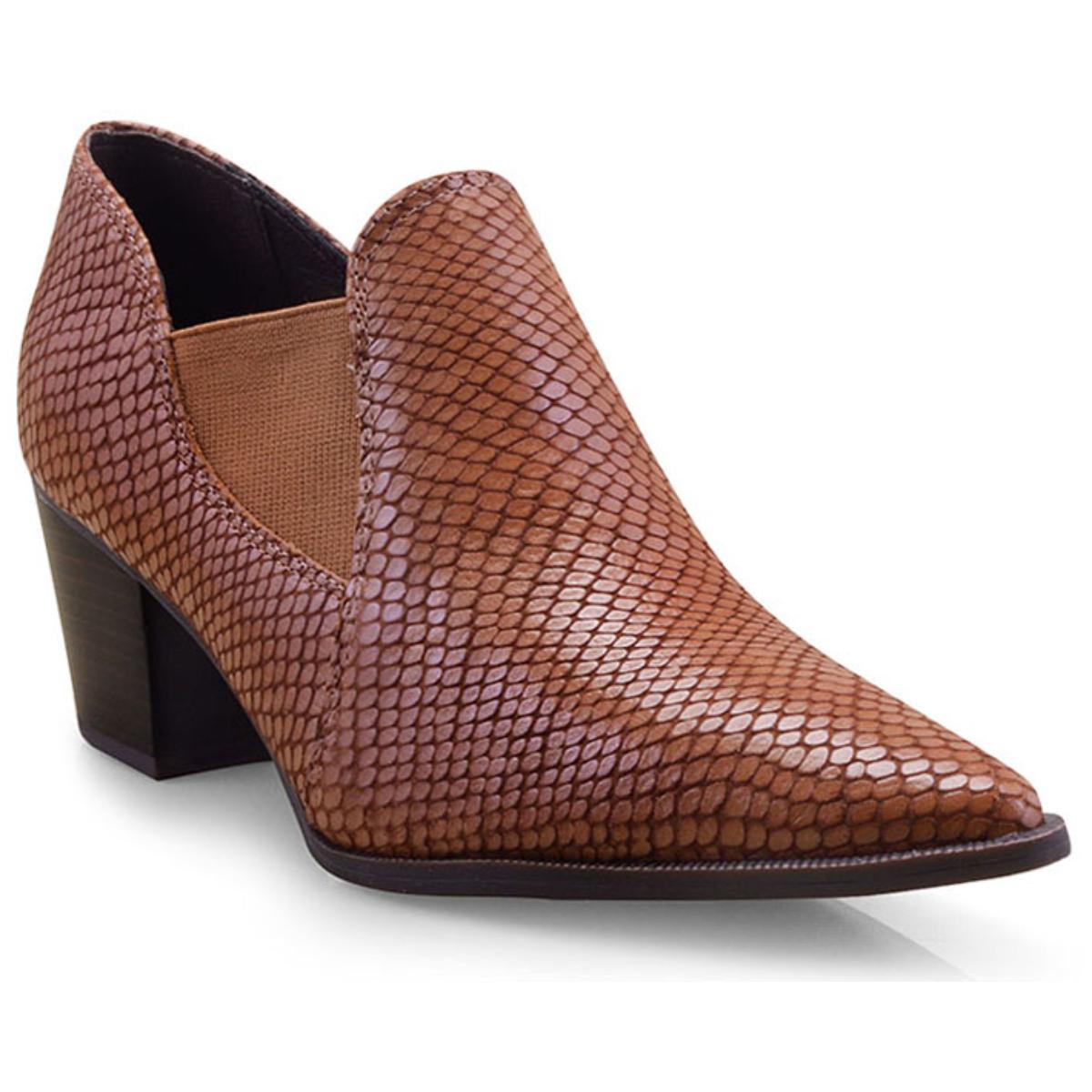 Sapato Feminino Bottero 300305 Caramelo
